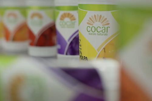 Sucos de frutas da Cocar Bebidas Tropicais